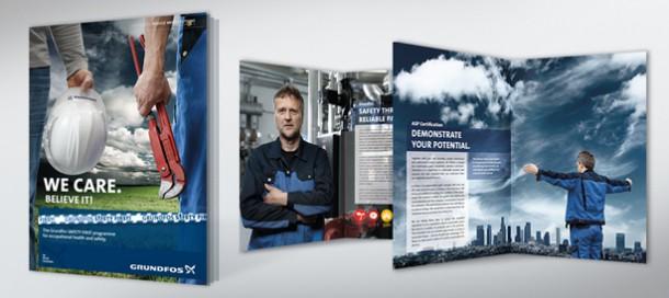 Image-Kampagne Grundfos Servicepartner