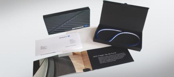 MEINERTZ Architekten-Mailing für Unterflur Design-Heizkörper