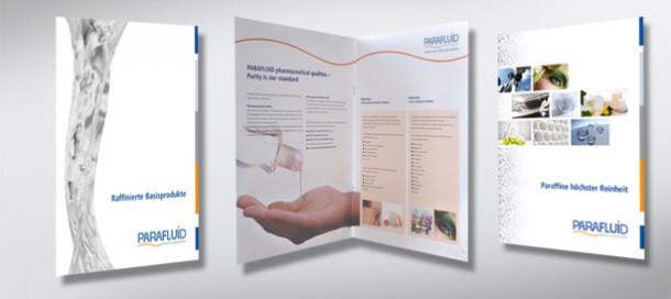 PARAFLUID Sortimentsübersicht für die Pharma- und Kosmetikindustrie