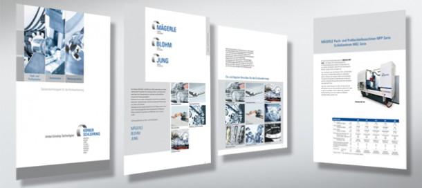 Maschinen-Lieferprogramm der 8 Herstellerwerke